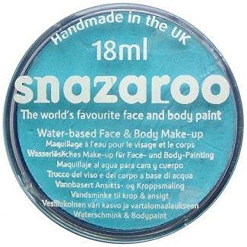 Peinture classique pour visage et corps par Snazaroo, 18 ml, couleur individuelle, abricot - Turquoise -