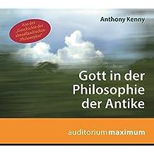 Gott in der Philosophie der Antike