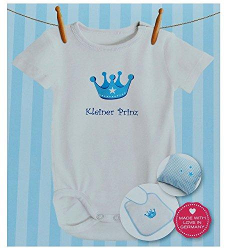 """Preisvergleich Produktbild 8 tlg. Set - Bügelbild / Transferbild - """" kleiner Prinz """" Krone - für Helle und Dunkle Textilien - Bügelbilder Jungen - Thermotransferbild für Kinder und Erwachsene / ideal für T-Shirt"""