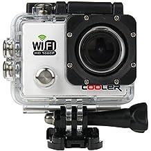 WIFI Impermeable Videocámara de KIPTOP  cámara del deporte 12MP, HD, 1080P, Gran Angular, Sumergible hasta 30m, Incluye múltiples accesorios