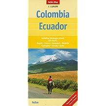Colombia Ecuador : 1/2 500 000
