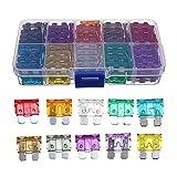 Swiftswan 100 Teile/Satz Standard Klinge Sicherung Für Automobil Auto Boot LKW Sortiment Set (Farbe: Multicolor)