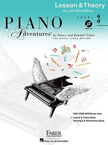 Lesson 3 Level Book Piano (Piano Adventures Lesson & Theory - Level 3 (Anglicised Piano Book): Noten, Lehrmaterial für Klavier)