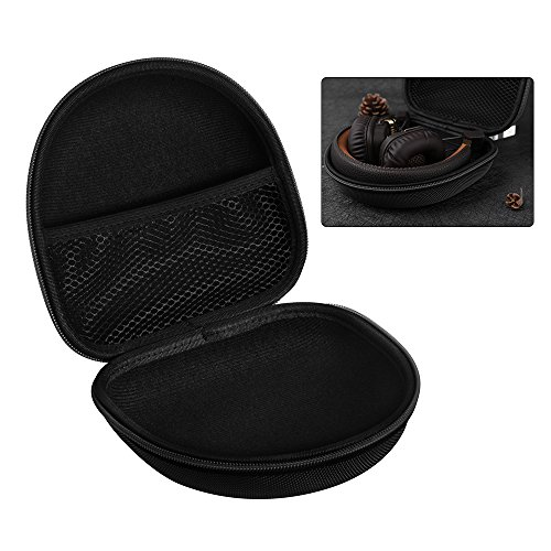 XCSOURCE® Hard Eva Kopfhörer Tasche Beutel Reisetasche (Schwarz) für Marshall Major I/Major II Bluetooth On-Ear Headset TH716 - 4