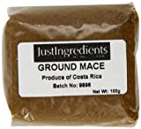 JustIngredients Essential Muskatblüte gemahlen, Mace Ground, 2er Pack (2 x 100 g)