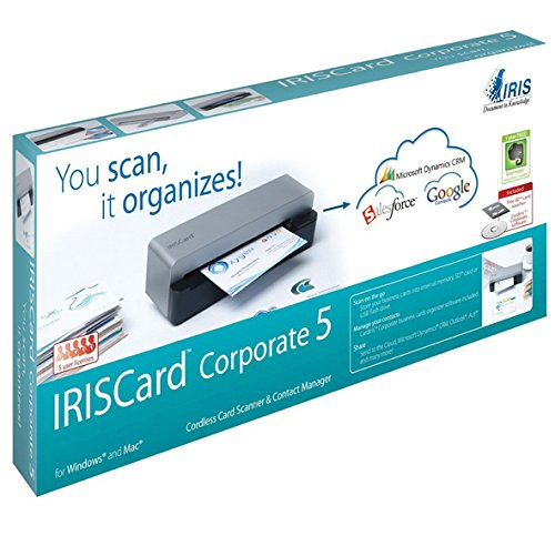 I.R.I.S. IRISCard Corporate 5 Scanner