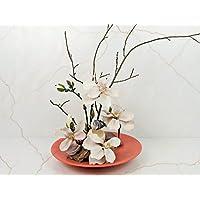 Blumendekoration Magnolien, Tischdekoration