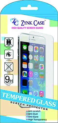 ZYNK CASE TEMPERED GLASS FOR MICROMAX CANVAS FIRE A104  available at amazon for Rs.99