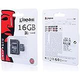 Tarjeta micro SD SDHC 16GB Clase 10UHS 1+ adaptador para Huawei Ascend G7/G620s