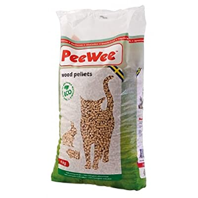 PeeWee Cat Litter Wood Pellets, 14 Litre