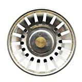 Sunlera Manopole in Acciaio Inox Rubinetteria setaccio Piccolo, Lavandino Filtro per Cucina Rubinetto per cestello di Scarico