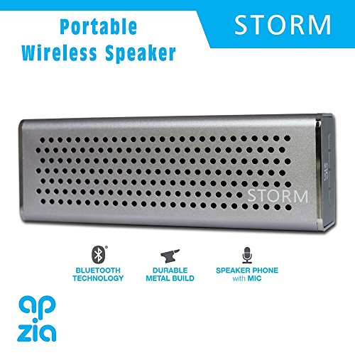 Moyzikh Apzia Storm Portable Bluetooth Speaker (Assorted Color)
