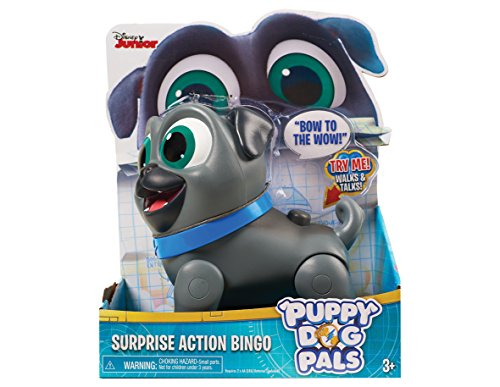 Puppy Dog Pals Sorpresa d'azione Bingo