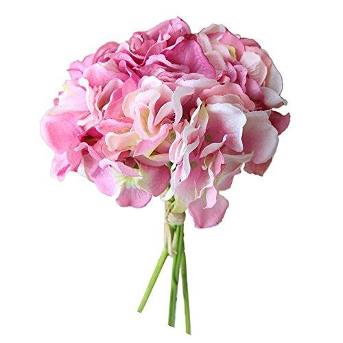 Dvhblxux Artificielle Fleur pivoine Bouquet De Mariée Mariage Décoration Florale d'ornement de fleurs Beauté naturelle C