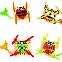 STOBOK 17pcs Mini Insekten Bug Tierfiguren Spielzeug Witz Trick Gag Toy