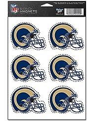 St. Louis Rams 6-Pack Magnet Set