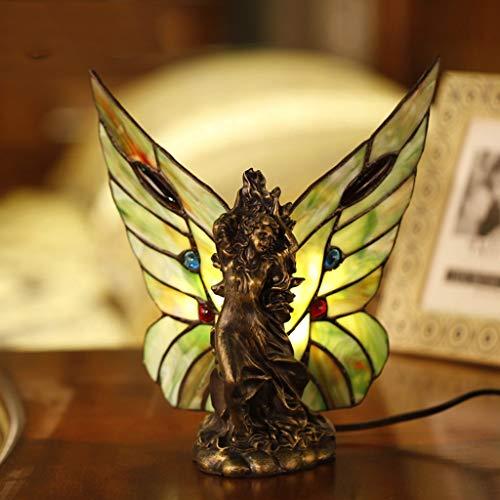 �nlichkeit kreative Retro Butterfly Wings nachtlicht fütterung Lampe Thema Restaurant bankett Dekoration Beleuchtung (Größe : 22x21cm) ()