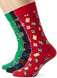 Happy Socks Herren Holiday Gift Box, 3er Pack