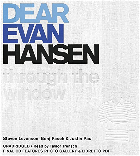 Dear Evan Hansen: Through the Window: Includes PDF Disc