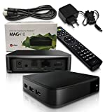 MAG 410 Android IPTV Streamer H.265 SET TOP BOX Stalker Multimedia Internet TV 4K 3D Ultra HD Full HD