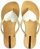 Ipanema Damen Maxi Fashion II Fem Zehentrenner, Gold (Gold), 38 EU
