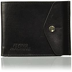 Flying Machine Black Mens Wallet (FMAW0222)