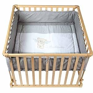 roba 0256 laufgitter 100 x 100 cm baby. Black Bedroom Furniture Sets. Home Design Ideas