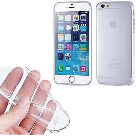 TBOC® Funda de Gel TPU Transparente para iPhone 6 (4.7 Pulgadas) de Silicona Ultrafina y Flexible