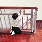 ugokarj Children Rail Balcony Safety Net Stairs Banister Stair For Kids Pets