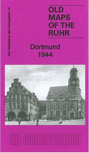 Ruhr Sheet 16. Dortmund 1944 (Old Maps of the Ruhr)