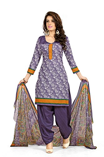 Banorani Women's Cotton Patiala Salwar (K-1413_1_Maroon::Cream_Free Size)