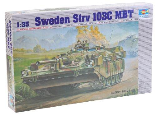 Trumpeter 00310 Modellbausatz Schwedischer Schwerer Panzer Strv 103C