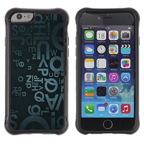 Graphic4You Art Drawing Design Shockproof Anti-Rutsch Weichen Hülle Case Tasche Schutzhülle für Apple iPhone 6 / 6S Design #14
