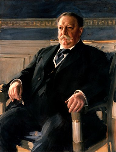 Das Museum Outlet - Anders L. Zorn - William Howard Taft - Google Art Project, gespannte Leinwand Galerie verpackt. 40,6 x 50,8 cm Taft Jeans