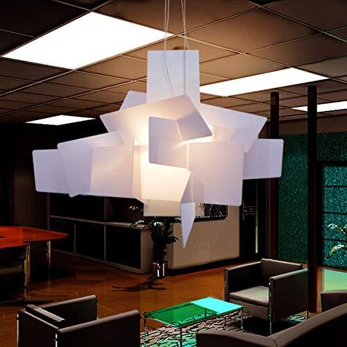 D65cm / 95cm Moderne Foscarini Big Bang Stapeln Kreative Moderne Kronleuchter Beleuchtung Kunst Pandant Lampe Decke LED 90-260V Replica, 65cm R7S Basis rot
