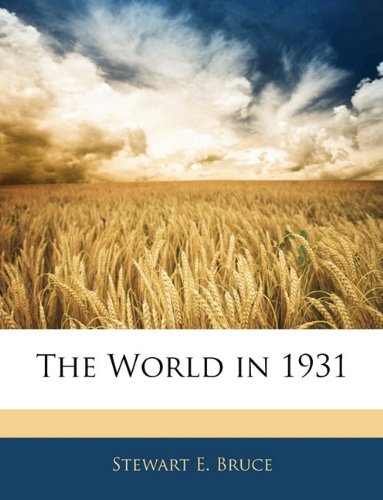 The World in 1931