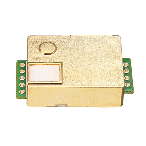 Electronic component Quickbuying MH-Z19 Infrarot-CO2-Sensor-Modul für Innenraum-Luftqualitätsmonitor, 0-5000 PPM, 33 x 20 x 9 mm, Modulplatten - Infrarot-co2-sensor