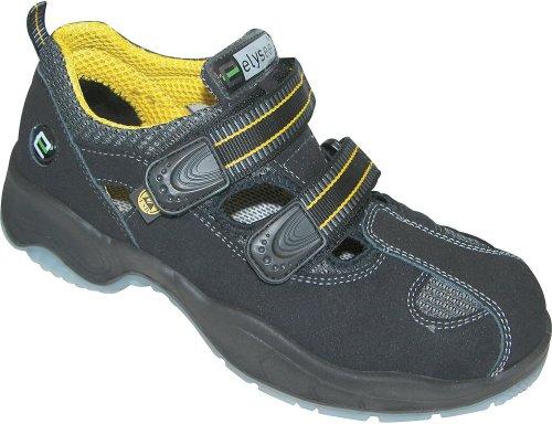Elysee  MONZA, Chaussures de sécurité pour homme Noir - Schwarz/Gelb