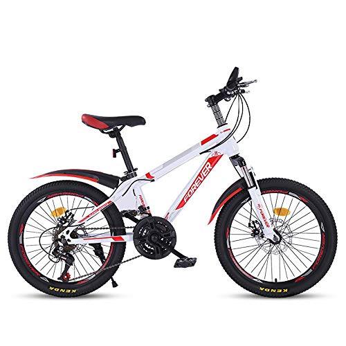 AI CHEN Mountainbike Fahrrad Mountainbike Racing Mittelschüler Jungen und Mädchen 20 Zoll 21 Schaltung