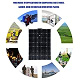 Solar Charging Device 150W Monocrystalline Solar Panel Sun Power Module With 20A Battery Charger 10M MC4 Extension Cord