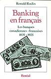 Banking en Francais