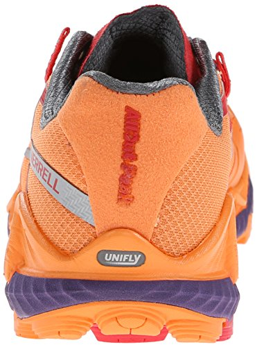 Merrell Peak, Chaussures de Trail Femme Orange