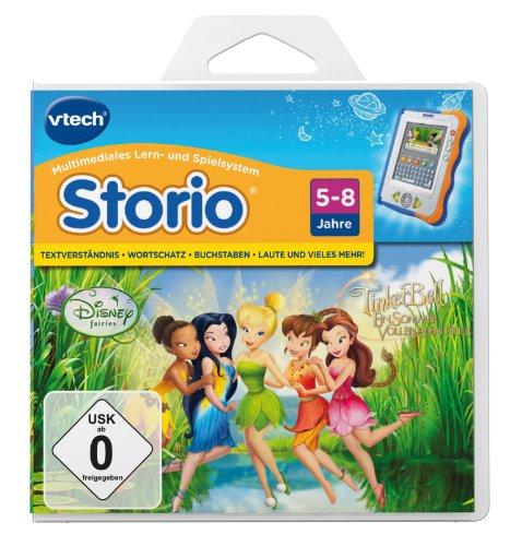 Imagen principal de VTech Storio 80-280304 Tinkerbell - Juego electrónico educativo [importado de Alemania]