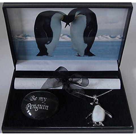 pebblez and penguinz - Scatola regalo con pinguini
