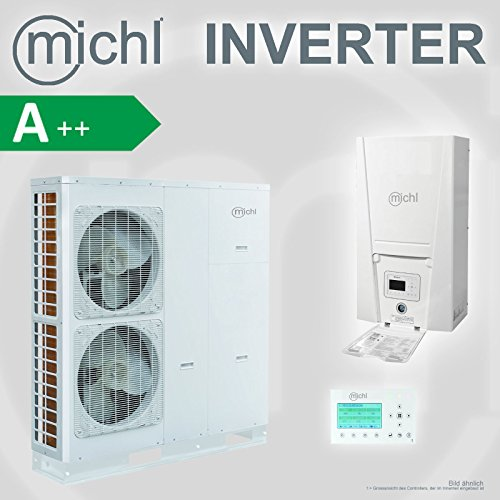 Michl Inverter Luft-/ Wasser Wärmepumpe split 14 kw