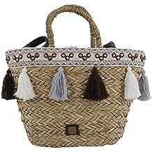 Bluebags Eferri-Capazo Nature Hadab, Bolsa de Tela y de Playa para Mujer,
