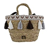 Bluebags Eferri-Capazo Nature Hadab, Bolsa de Tela y de Playa para Mujer, Unica