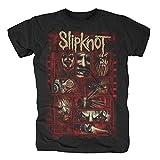 Bravado Universal Slipknot Sketched Boxes T-Shirt (L, Schwarz)