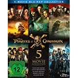 Pirates of the Caribbean 1-5 Box