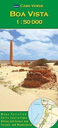 Cabo Verde: Boa Vista 1:50000 (Carte de randonne et de loisirs du Cap-Vert)